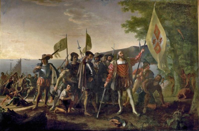 Christoph kolumbus landet auf den west indies am 12 oktober 1492 er